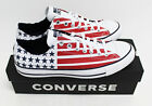 NIB CONVERSE Men's CTAS Ox USA Flag Chuck Taylor All Star Low Top Sneakers Shoes