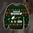 You Done Messed Up A Aron Knitting Pattern 3d Print Ugly Christmas Sweater