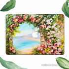 For Macbook Pro 16 15 Air 11 12 13 2020 Romantic Lakeside Flowers Painting Case