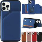 For Iphone 12 Pro Max Mini 11 Xr Se 7 8 Plus Wallet Card Slot Leather Case Cover