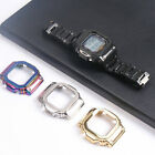 Stainless Steel Strap Protective Case For Casio DW 5600BB /HR /SK /E / GW-B5600