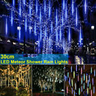 LED Meteor Shower Lights Waterproof Falling Rain Icicle Outdoor Christmas Decor