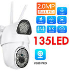 360 Degrees IP Camera HD 1080P CCTV WiFi Wireless Indoor/Outdoor Security IP66