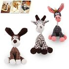 Pet Puppy Dog Soft Cute Plush Chew Play Toys Squeaker Squeaky Sound Dog Toys