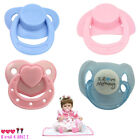2/4pc Dummy Pacifier For Reborn Baby Dolls With Internal Magnetic Accessories