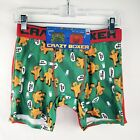 Crazy Boxer Briefs Christmas 2 Pack Green Gingerbread Men's M L New