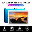 "10.1"" inch WIFI/4G-LTE 8G+128GB Android 9.0 HD PC Tablet Pad SIM GPS Dual Camera"