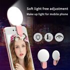 Portable Selfie Ring Light LED Fill Camera Flash Soft Light for Mobile Phone