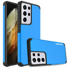 For Samsung Galaxy S21 Ultra 5G / S21+ S20 Note 20 Hybrid Shockproof Case Cover