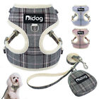 Soft Dog Vest Harness and Leash Set with Cute Bag for Small Dogs Yorkshire Pug