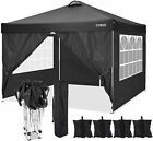Best 10'x10' Canopy Party Wedding Tent Outdoor Pavilion Heavy Duty Cater Event*
