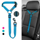 ADJUSTABLE CAR VEHICLE DOG SAFETY SEAT BELT HARNESS LEASHES SEATBELT PET PUPPY