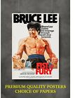 Bruce Lee Fist of Fury Classic Movie Art Large Poster Print Gift A0 A1 A2 A3 A4