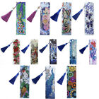 5D Diamond Painting Bookmark Embroidery Kits Tassel Craft Book Mark Art Gifts