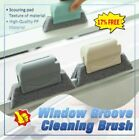 1*window Door Track Cleaning Brush Gap Groove Sliding Tools Dust Cleaner Gifts.