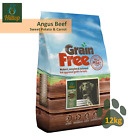 Grain Free Angus Beef, Sweet Potato and Carrot Dry Dog Food 100g 2kg 6kg 12kg