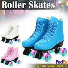 Women Men Roller Skates High-top Four-Wheel Double Row Roller Skates Youth DHL