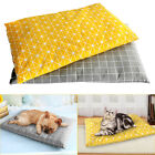 Large Pet Bed Mattress Dog Cushion Pillow Mat Washable Soft Winter Warm Blanket