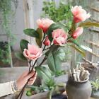 Artificial Fake Flowers Leaf Magnolia Floral Wedding Bouquets Party Home Decor