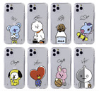 BT21 Hang Out Cutie Clear Jelly Case Official BTS Kpop 100% Authentic