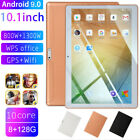 """10.1"""" inch 4G-LTE/WiFi Tablet HD 8 128G Android 9.0 Dual Camera 10 Core Phablet"""