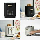 2 Slice Touchscreen Toaster Black Sesame Kitchen Toaster with an LED Countdown