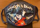 """Disneyland Resort Park Exclusive """"The Magic is Back"""" Face Mask ALL SIZES"""