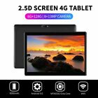 """10.1"""" WI-FI/4G-LTE HD PC Tablet 2.5D Android 9.0 Pad 6 128G SIM GPS Dual Camera"""