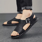 Men Flat Soft Breathable Sandals Summer Shoes Non-Slip Casual Outdoor Walking