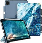 Case for iPad Pro 11 Inch 3rd Gen 2021 Stand w/ Translucent Frosted Back Cover