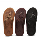 Men Soft Rope Slip On Flip Flops Flats Slippers Male Summer Casual Outdoor Shoes