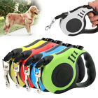 Dog Leash Retractable Nylon Lead Extending Puppy Walking Running Leads