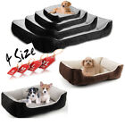Details about  Bunty Deluxe Soft Washable Dog Pet Warm Basket Bed Cushion with