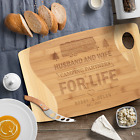 Wooden bamboo Camping cutting board Personalized camp gift RV decor