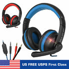 3.5mm Gaming Headset Mic Headphones Stereo Surround Mic Stereo For Xbox One PC