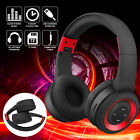 Wireless Headphones Bluetooth 5.0 Headset Mic Stereo Over Ear Noise Cancelling