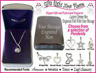 Engraved Chrome Box & Necklace Birthday Gift 13th 16th