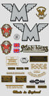 1945-49: Matchless Decals - RESTORERS DECAL SET