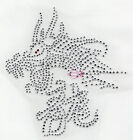 rhinestone iron on transfer chinese character -- dragon