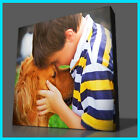 "YOUR PHOTO ON CANVAS FRAMED IN 6X6"" TO 36X36"" WALL DECO"