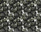 60 - 1000 BLACK Acrylic Faceted Bicone Beads 4,6,8,10mm