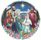 Ceramic Decals Christmas Holiday Manger Nativity Scene