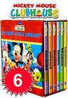 Disney Mickey Mouse Clubhouse Little Library 6 Book set
