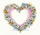 Ceramic Decals Floral Flower Heart with Pink image