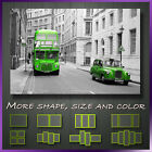 London City Bus Cab Cityscape Box Canvas Reay To Hang !