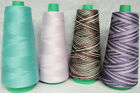 100% Merc Cotton Thread / Quilting Thread / Serging Thread (COLORS-3M)