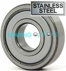 PREMIUM BEARINGS 6200 ZZ - 6209 ZZ STAINLESS STEEL (316 GRADE)