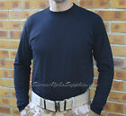 NEW DUTCH ARMY STYLE ECW BLACK THERMAL LONG SLEEVE TOP COLD WEATHER BASE LAYER