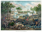 Decor Poster. Fine Graphic Art. Battle of cold harbor. Home Wall Design. 1216