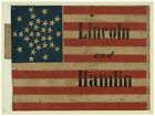 Decor Lincoln & Hamlin Political Poster. Fine Graphic Art. Home Wall Design 1309